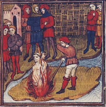 Execução impiedosa do último Mestre dos Templários