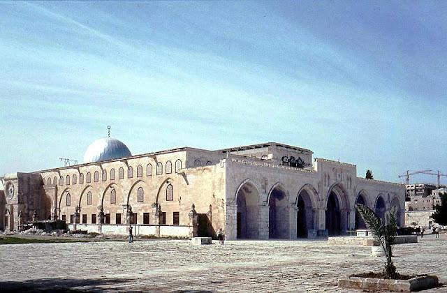Primeira sede dos Templários, atual mesquita Al Aqsa, Jerusalém