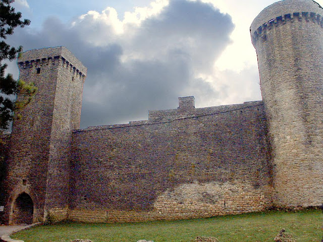 Fortaleza templária, La Couvertoirade, França