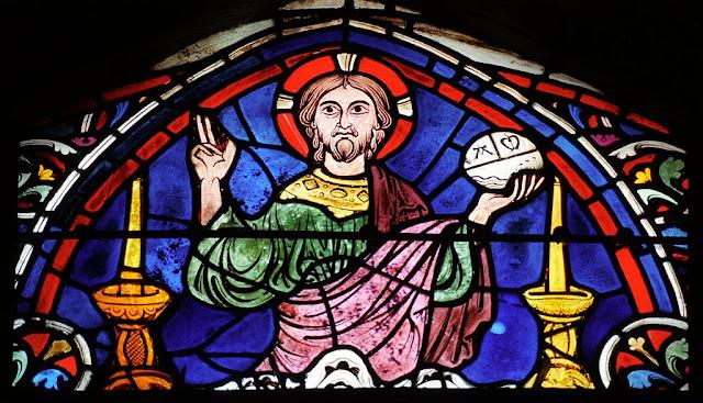 Chartres, Jesus Cristo na Última Ceia, catedrais medievais