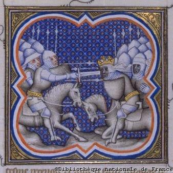 Batalha de Roncesvales. Grandes Crônicas da França