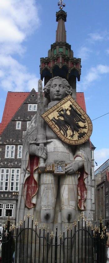 Fonte de Roland, Bremen, Alemanha
