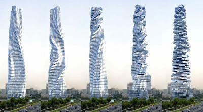 Projeto Torre Dinâmica, Dubai, Luz de Cristo x trevas da razão