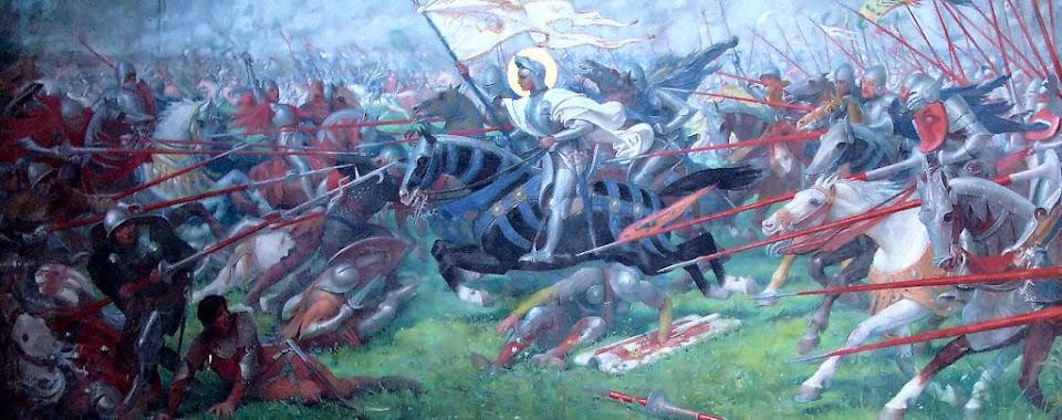 Santa Joana d'Arc, santuário de Bois Chenu, Lorena, Herois medievais