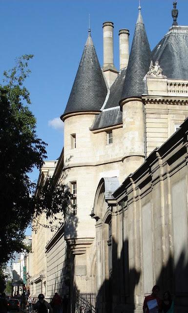 Torres dos príncipes de Guise, Hôtel de Soubise, Paris, castelos medievais
