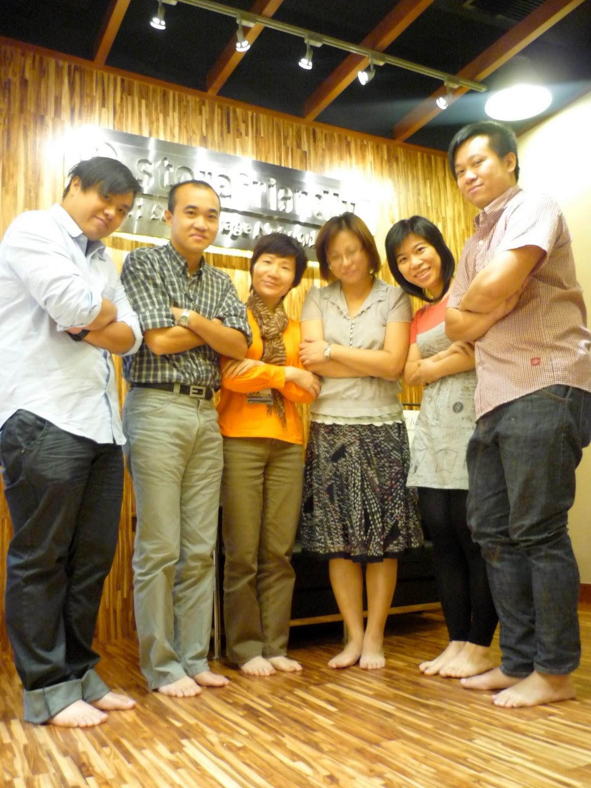 儲存易迷你倉集團 Storefriendly Self Storage Group Blog [No.1 Self Storage in Asia]: 儲存易迷你倉集團參加樂施赤腳日 by ...