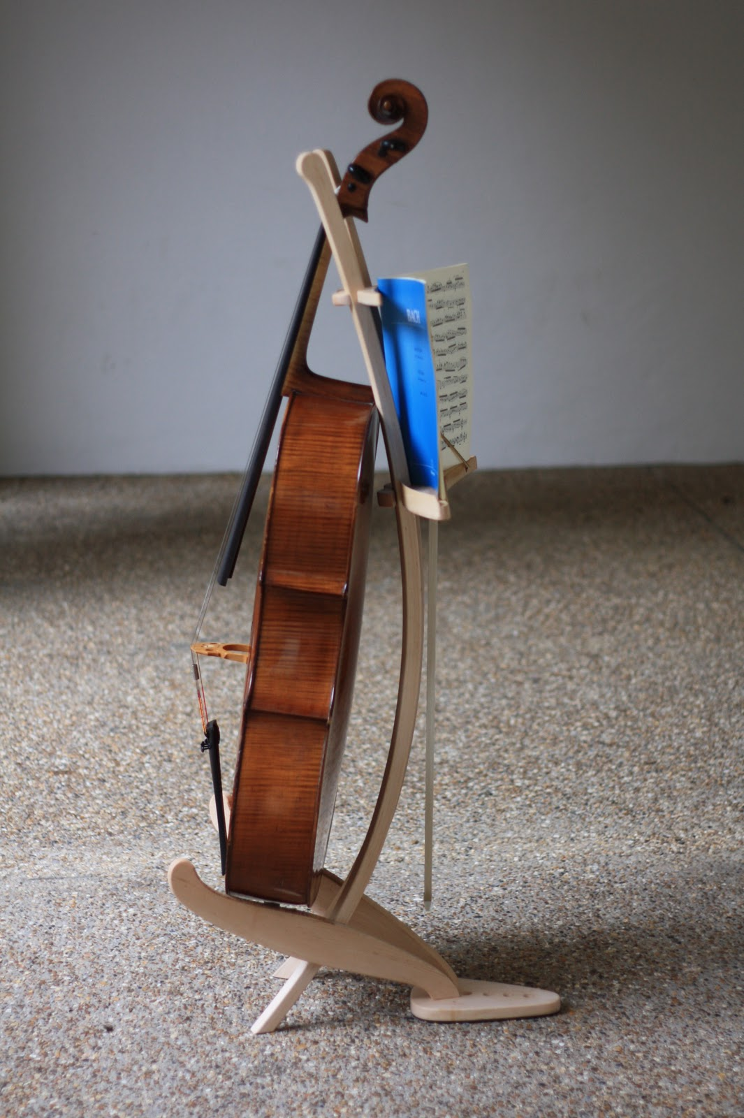My Dads Blog Bim Burton Cello Music Stand