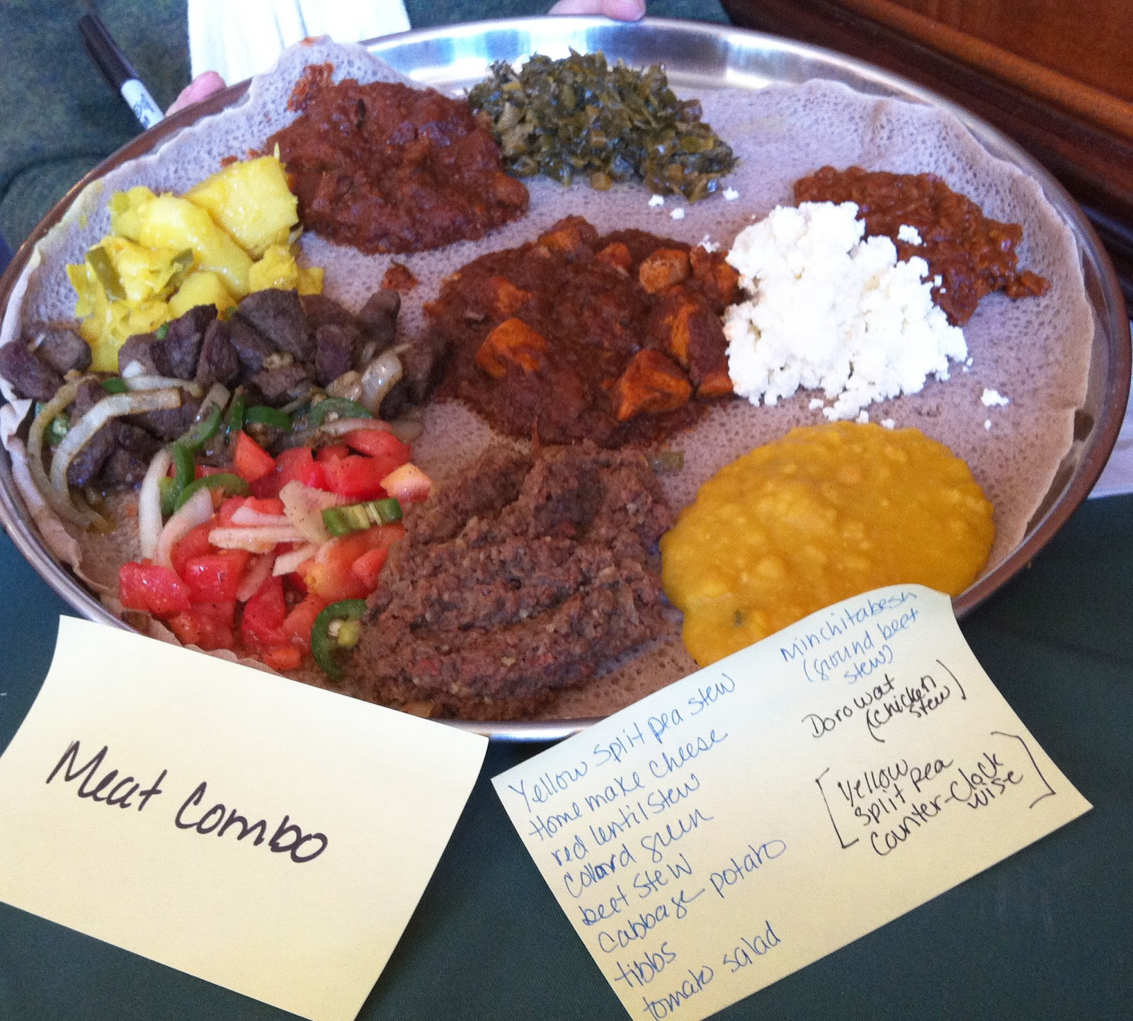 Flavor, Local Food, Cravings & Insights: Ethiopian Food- Eat with