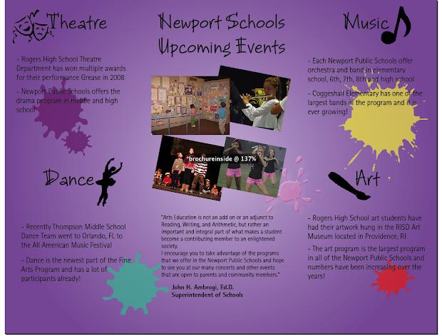 Comm240 Megan Kopf Newport Schools Brochure Rationale