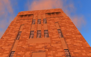 The Forgan Smith building in Second Life