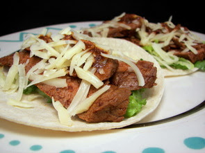 Chile-Rubbed Steak Tacos