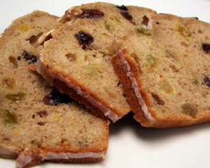 Glazed Cinnamon-Raisin Tea Bread