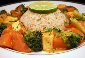 Red Curry with Vegetables