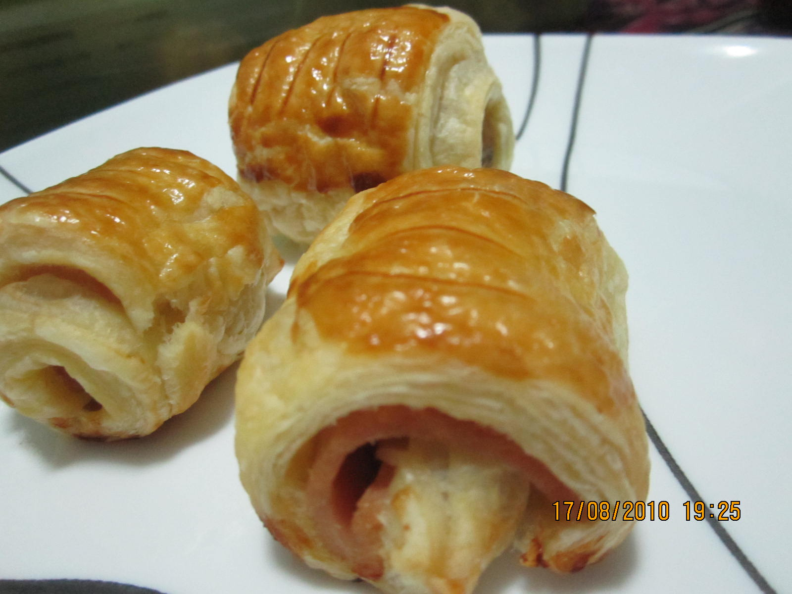 Roti Sosej Gulung Rangup Resepi Dari Blog En Mat Gebu