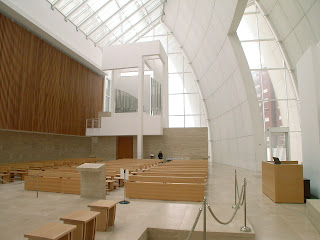 My Architectural Moleskine Richard Meier Jubilee Church