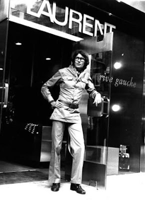 Yves Saint Laurent in 1966