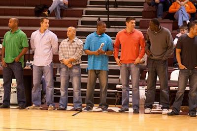 McMurry Athletics Blog: Men's Basketball Reunion story ...