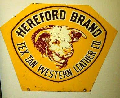 Hereford saddles vintage brand