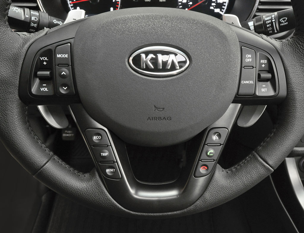 More Than One Kind Of Steering Wheel Leather