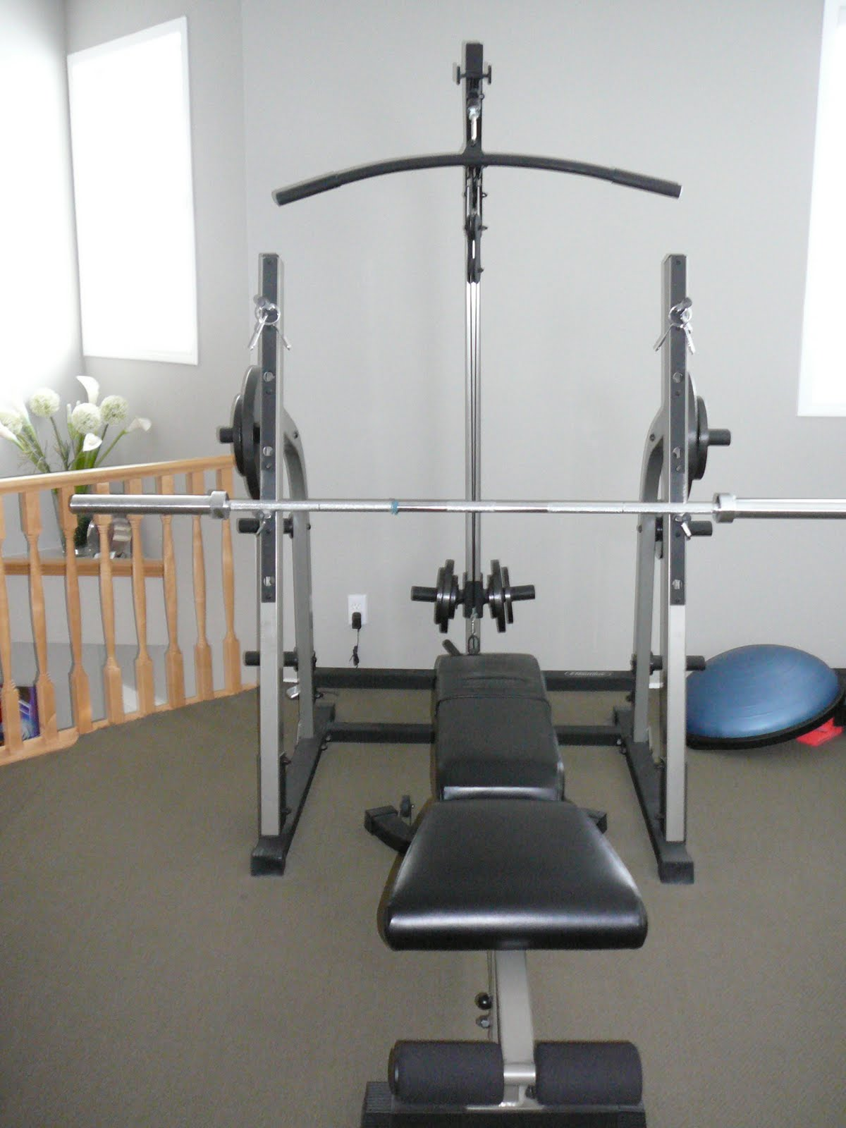 Movingsaleyyc2011 Nautilus Weight Set With Bench 600 Obo
