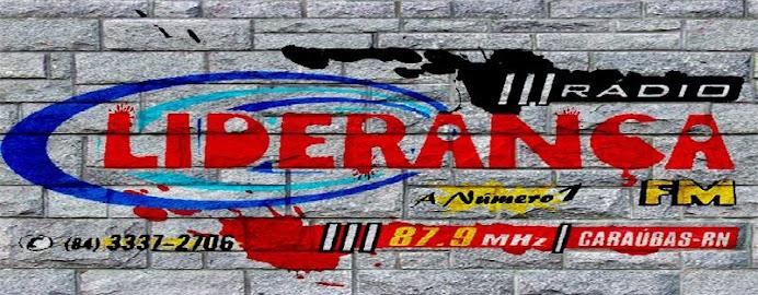 Liderança-FM-A Número 1 Caraúbas RN -87,9mhz-