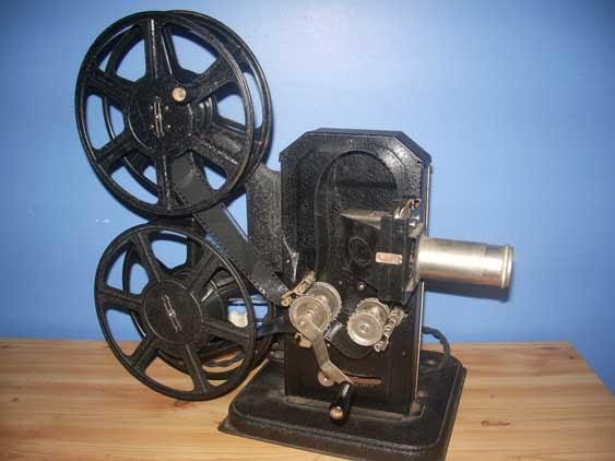 Alef Nofi 35mm Filmprojector 1930 Cinegraphica