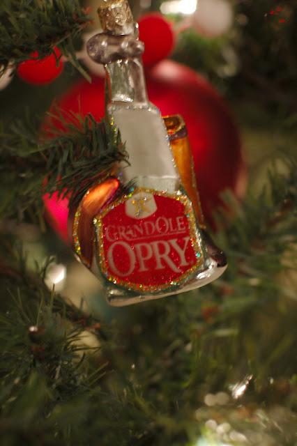 Grand Ole Opry Christmas Tree ornament on family Christmas tree