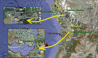 Topónimos españoles en Vancouver