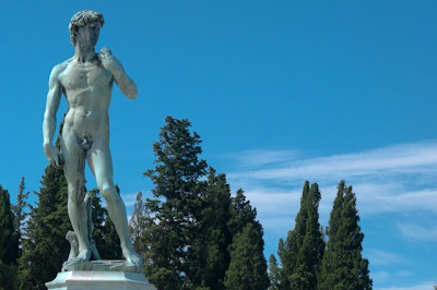 David, Piazzale Michelangelo, Florence, Italy