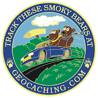 Artwork picture of the 2007 Smoky Mountain Geoquest Geocoin - back