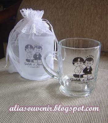 souvenir gelas