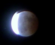 Lunar eclipse pictures from the UK
