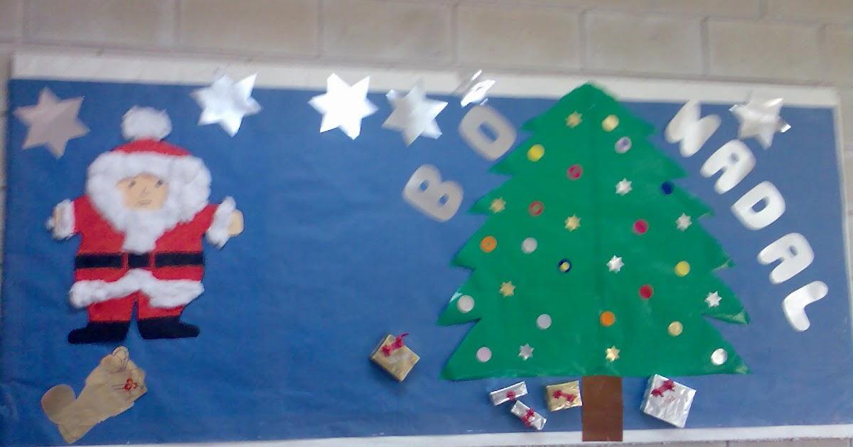 Blog de luc a murales de navidad 3 a os - Murales decorativos de navidad ...
