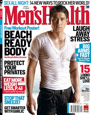 Aljur Abrenica Men's Health Philippines February 2011