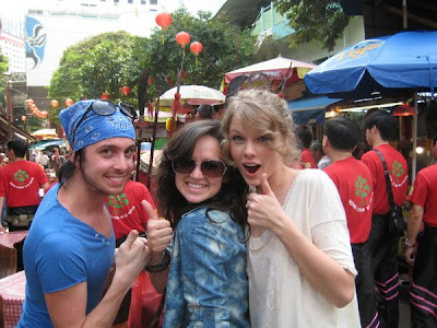 Taylor Swift in Singapore