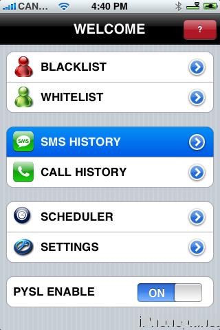 pysl pour iphone