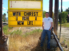 I saw this sign on the way to McCall and had to have my pic taken next to it!