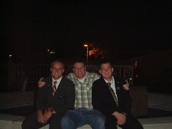 Elder Sawtelle, me and Mertz