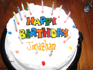 happy birthday jonathan cake