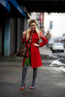 The Vintage Society: Society Girl of the Week: Sophia :  street style blog palette