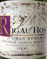 Rigau-Ros Gran Reserva 1999, D.O. Empordà