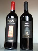 Nero d'Avola y Montefalco Rosso