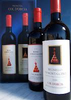 Brunello di Montalcino 2000 i Rosso di Montalcino 2004 de Tenuta Col d'Orcia