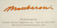 Ristorante Maccheroni
