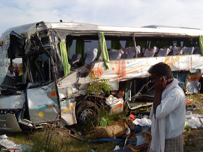 Indian Luxury Buses: Fatal KPN Volvo B9R crash : the first ...