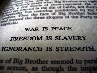 Batcheeba's inner world: OBAMA: WAR IS PEACE, FREEDOM IS SLAVERY ...