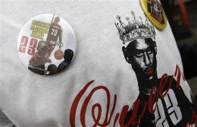 """Queen James"" Apparel Shows Up Just In Time For LeBron's Return To Cleveland"