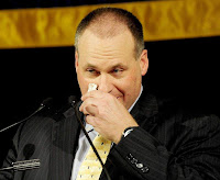 Rich Rodriguez crying