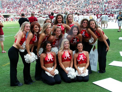 At The University Of Alabama, Cheerleading Is Not A Sport