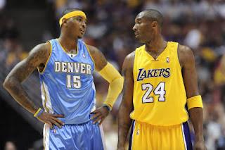 Kobe Bryant and Carmelo Anthony